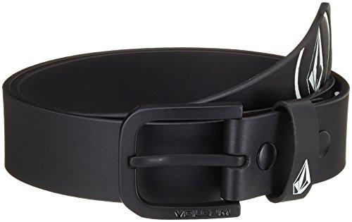 Volcom - Gürtel Redux Belt, Cintura uomo, Schwarz, 80 (Taglia produttore:Small/Medium)
