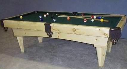 Northwoods Billiards Knotty Pine - x Knotty Pine 7' or 8' Pool Table