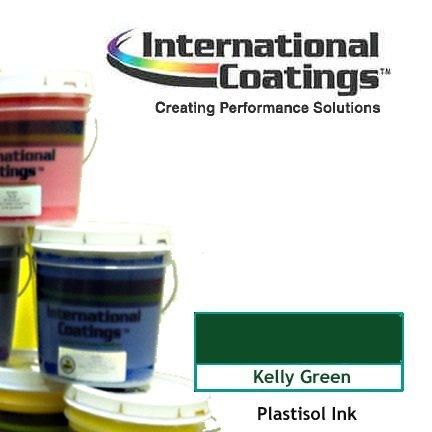 Plastisol Screen Printing Ink ICC 773 LF Kelly Green Gallon