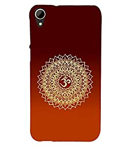 Om Mantra Hindu 3D Hard Polycarbonate Designer Back Case Cover for HTC Desire 828 :: HTC Desire 828Q :: HTC Desire 828S :: HTC Desire 828G+ :: HTC Desire 828 G Plus :: HTC Desire 828 Dual Sim