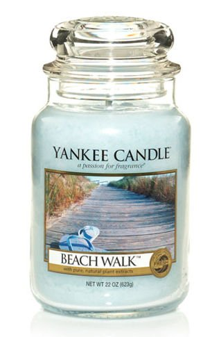 Yankee Candle Beach Walk Large Jar 22oz Candle