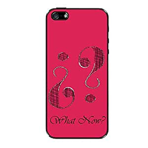 Vibhar printed case back cover for Apple iPhone 4 What