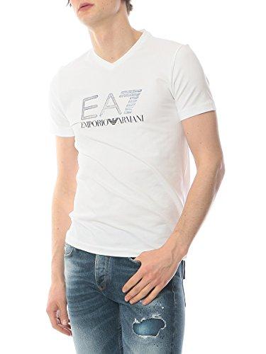 (エンポリオ アルマーニ イーエーセブン) EMPORIO ARMANI EA7 フロントロゴ メタリックプリント クルーネック 半袖 Tシャツ [【EA2739116P206】] [並行輸入品]