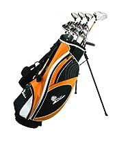 Palm Springs Golf VISA LEFTY ALL GRAPHITE Hybrid Club Set & Stand Bag