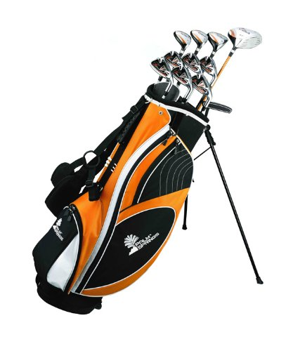 Palm Springs Golf VISA LEFTY ALL GRAPHITE Hybrid Club Set & Stand Bag