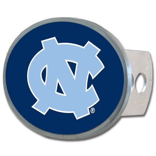 NCAA North Carolina Tar Heels Oval Hitch Cover (Unc Tow Hitch Cover compare prices)