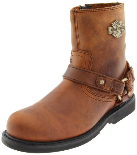 Harley-Davidson Men's Scout Motorcyle Boot,Brown,7 M US