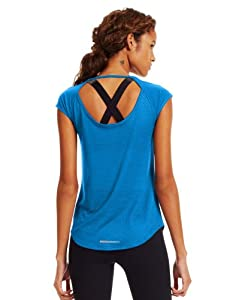 Under Armour Ladies UA Fly-By Short Sleeve by Under Armour
