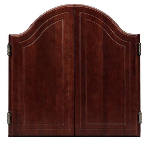 Viper Arched Mahogany Dartboard Cabinet