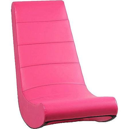 X Rocker, Video Rocker, Pink, Great for Playing Video Games and Reading, Perfect for Relaxing, Ergonomic Seating Position (Girls Gaming Chair compare prices)