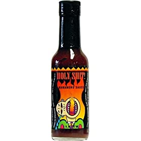Holy Shit Habanero Hot Sauce