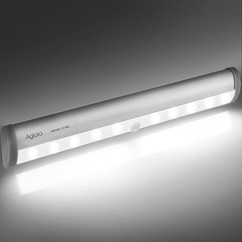 Aglaia luce led sensore di movimento lampada armadio 10 for Luce led striscia