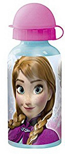 p: os 23898 - Botella Frozen, aluminio, 400 ml