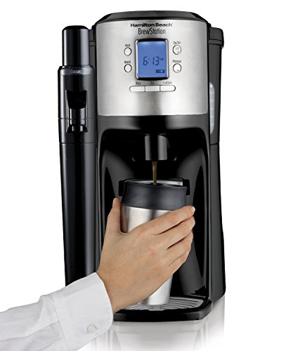 Hamilton Beach 49150 BrewStation with Flavor Dispenser Coffee Maker, Black (Automatic Coffee Dispenser compare prices)