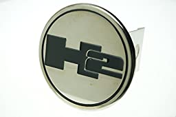 Auto Gold TH2C Chrome Trailer Hitch Plug, Hummer H2