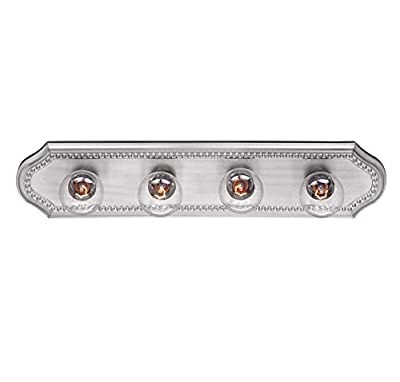 Savoy House Spirit 4-Light Vanity Bar in Pewter