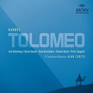 Handel -Tolomeo / Hallenberg, Gauvin, Bonitatibus, Basso, Spagnoli, Il Complesso Barocco, Curtis
