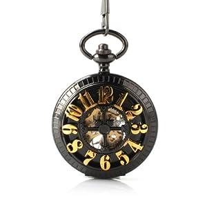 Amazon.com: Retro Antique Mechanical Pocket Watch Vitnage Steampunk