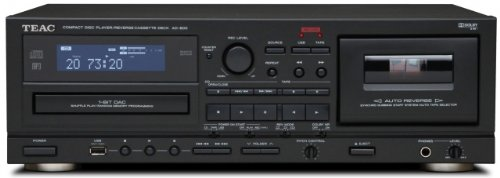 TEAC AD-800 CD Player and Auto Reverse Cassette Deck with USB Black Friday & Cyber Monday 2014