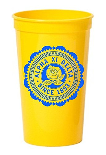 Alpha Xi Delta 22oz. Giant Classic Plastic Cup
