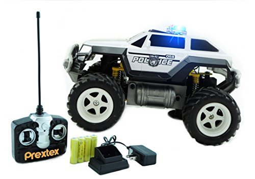 Monster Toys For Boys : Prextex remote control monster police truck radio
