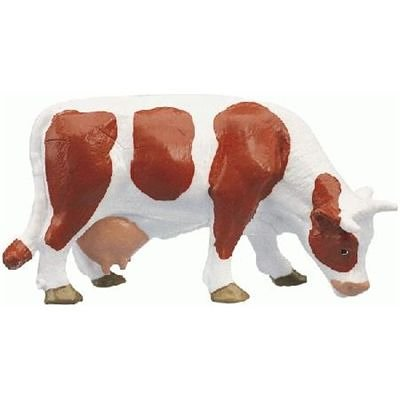 Bullyland Brown & White Calf - 1