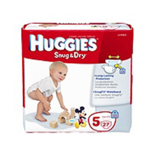 Huggies Snug And Dry Size 5