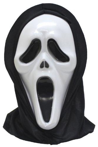 ファニーグッズ マスク スクリームScream (ハロウィン)Halloween (パーティグッズ)