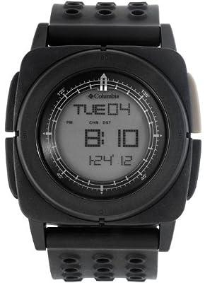 Columbia Men's CA010001 Meridian Square Digital Multi-Functional Black Sports Watch