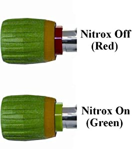 Buy New Nitrox Vindicator On-Off Safety Valve Handle for Scuba Diving Tank Valve Handle - Model #2 Fits... by Innovative Scuba Concepts