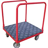 Northern Industrial Tools Cart with Carpeted Deck - 1000-Lb. Capacity