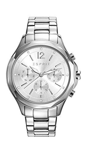 Reloj Cuarzo ESPRIT Para Mujer Con  Plata Analogico Y Plata Acero inoxidable ES109242001