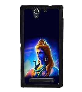 printtech Calm Om Namah Shivaya Back Case Cover for Sony Xperia C4 Dual E5333 E5343 E5363::Sony Xperia C4 E5303 E5306 E5353