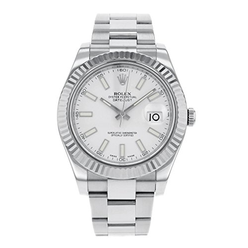 rolex-datejust-ii-116334-wio-18k-white-gold-steel-automatic-mens-watch