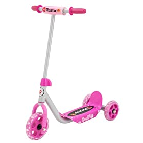 Razor Jr. Kiddie Kick Scooter, Pink