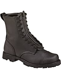 Thorogood Mens USA Made Black Leather 9in Wildland Fire Boot 11.5 W