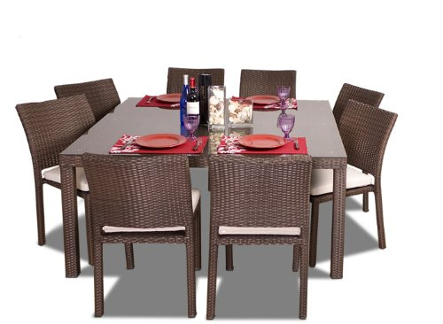 Atlantic Liberty 9-Piece Dining Square Set (Discontinued by Manufacturer) image