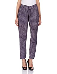 Pepe Womens Relaxed Pants (ARLI_Navy_S)