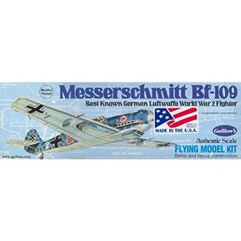 Guillow's Messerschmitt Bf-109 Model Kit