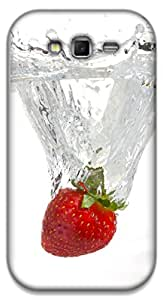 The Racoon Lean strawberry hard plastic printed back case / cover for Samsung Galaxy Grand