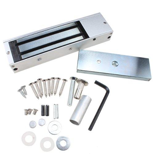 Agptek® 500 Kg Holding Force Electric Magnetic Lock For Door Access Control System (Electromagnet Fail-Safe Nc Mode)
