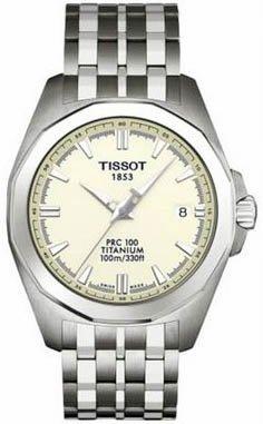 Tissot's Men's PRC 100 Titanium watch T008.410.44.261.00
