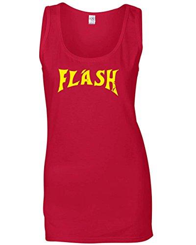 T-Shirtshock - Canottiera Donna OLDENG00755 FLASH, Taglia L