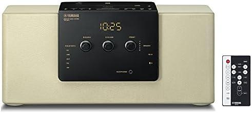 ヤマハ デスクトップオーディオシステム CD/USB/FM・AMラジオ/Bluetooth/NFC対応クロックオーディオ シャンパンゴールド TSX-B141(NC)