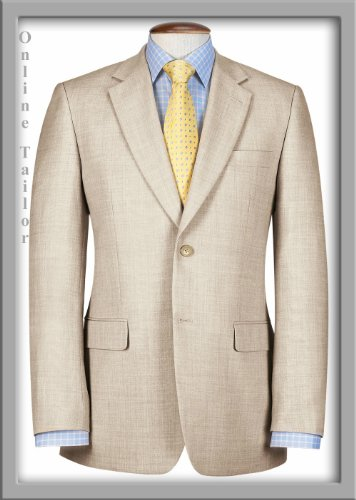 Mens Linen Suit Linen Wool Blend,Beige,Stone,Natural Perfect for Weddings,Proms & Hot Climates. Sizes 38 Short to 54 Short. 38 Regular to 60 Regular, 40 Long to 54 Longs. Simply the Best Linen Suit!