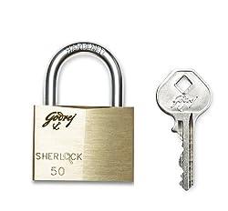 Godrej Locks Sherlock - 50 mm (Carton)