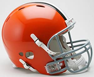Riddell Cleveland Browns Revolution Authentic Pro Helmet Authentic