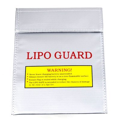 Strongest flame! LiPo Guard lipo battery safety bag