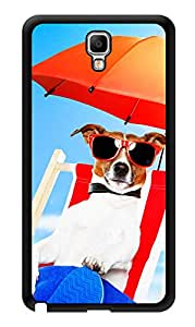 """Humor Gang Dog Beach Life Printed Designer Mobile Back Cover For """"Samsung Galaxy Note 3"""" (3D, Glossy, Premium Quality Snap On Case)"""