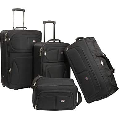 American Tourister Unisex – Adult Fieldbrook 4 Piece Luggage Set